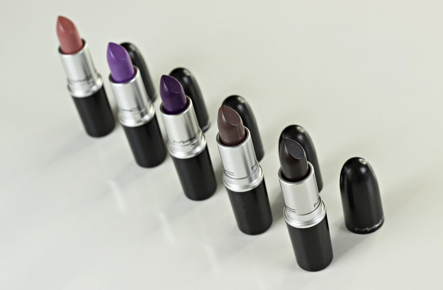 Mac Bangin' Brilliant: added five new lipsticks to my collection