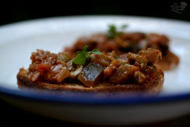 Cómo hacer unas deliciosas tostas de caponata