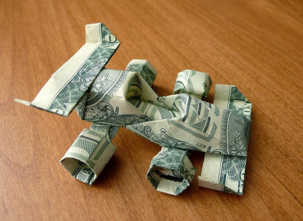 Car Origami Dollar Bill Craft Ideas And Easy Crafts