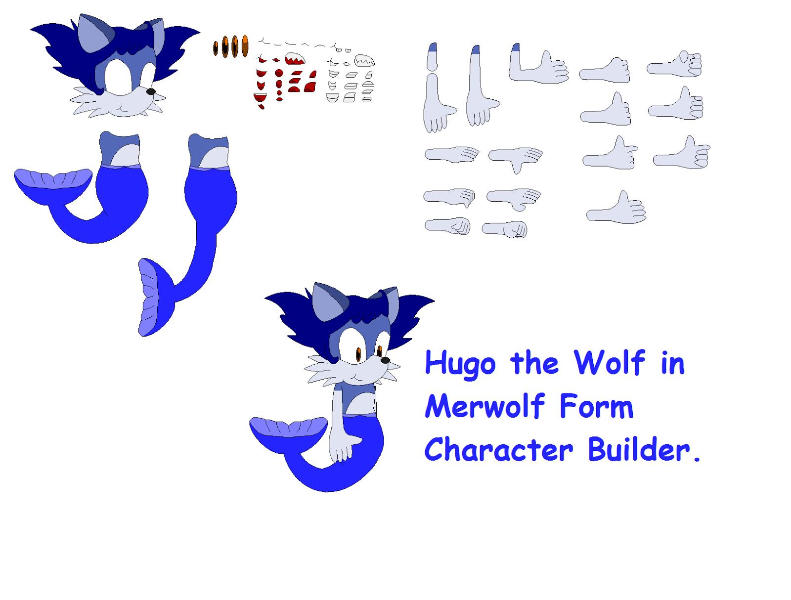 concept art blog hugo in merwolf form character builder