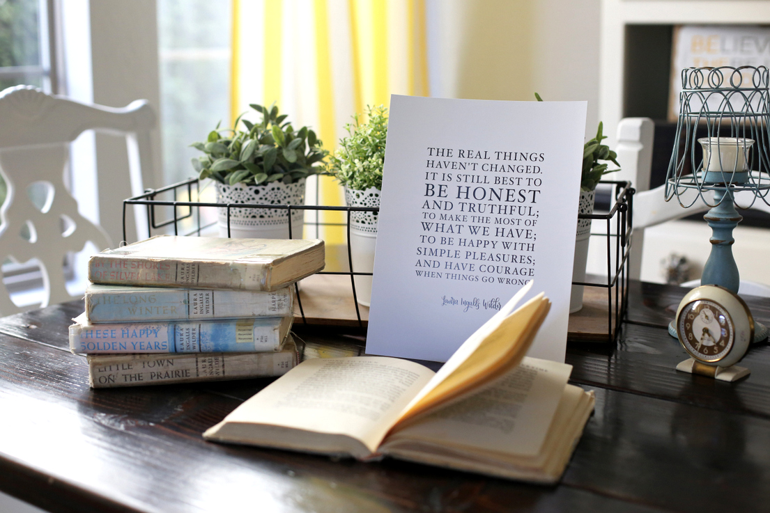 The CUTEST book quote prints from Harry Potter, Anne of Green Gables, Madeline and more!