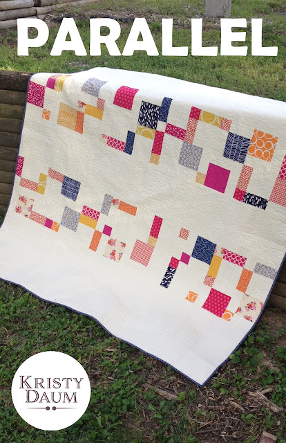 PARALLEL Quilt Pattern // Kristy Daum // St. Louis Folk Victorian