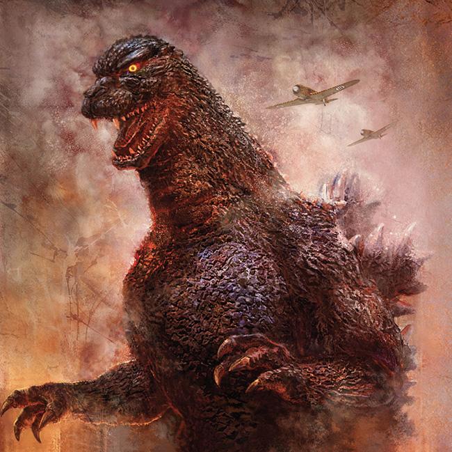Cheung Chung Tat (China) - Godzilla art