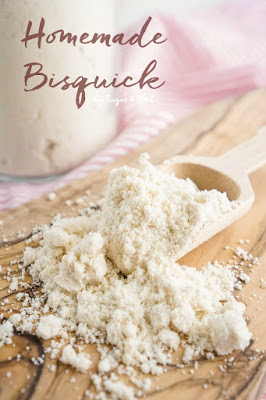 Homemade Bisquick, shared by Sugar & Soul