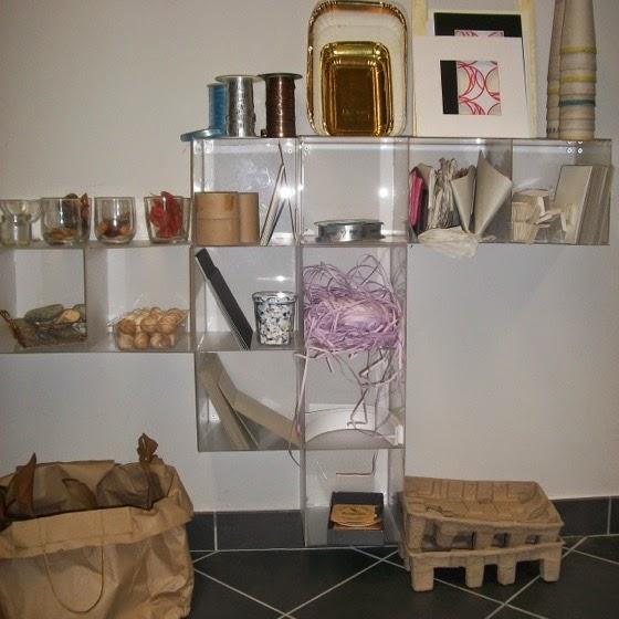 Organizzare lo spazio e arredare con materiali riciclati - Foto 11