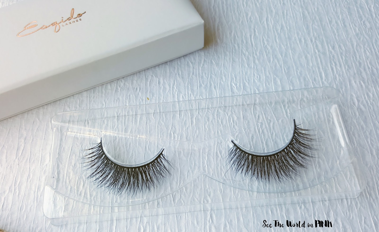 "Esqido Mink False Eyelashes - ""BFF"" and ""Voila"" Try-on and Review!"