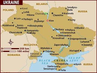 Ukraine Facts in Hindi