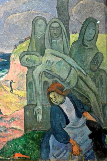 Musées royaux des beaux-arts de Bruxelles  Musée Fin de siècle Paul Gauguin : le calvaire breton