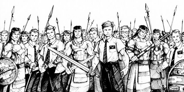 2000 stripling warriors coloring pages | Curiosity, Confidence, Courage, Constancy: April 2012
