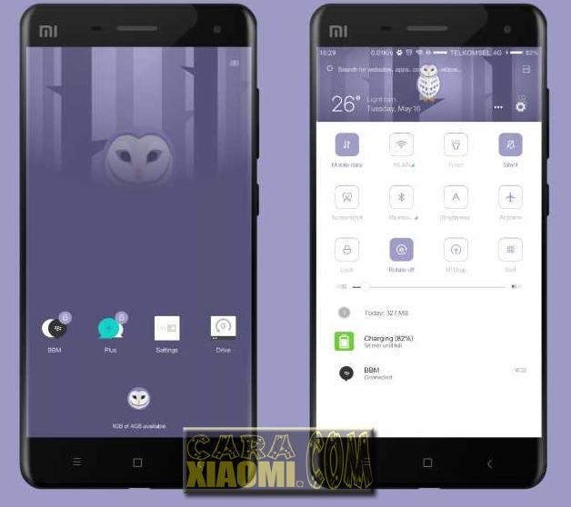 MIUI Theme Owell [DD] V8 Theme For Xiaomi Terbaru
