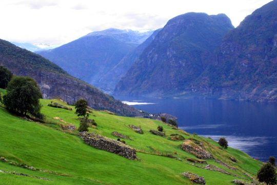 Flåm, Norwegia