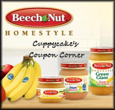 Cuppycake S Coupon Corner Beech Nut Baby Food Printable