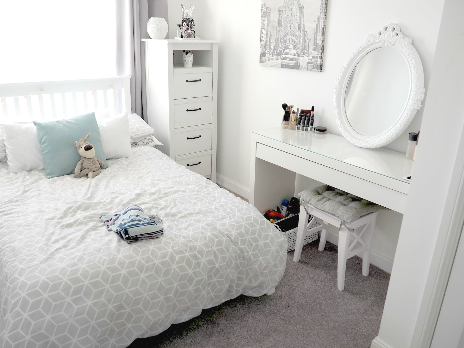 beauty room furniture. My Bedroom Only Held A Bed And Bedside Table. It Was Pretty Bare As I Used The Second Room \u0027getting Ready/beauty\u0027 Room. Beauty Furniture