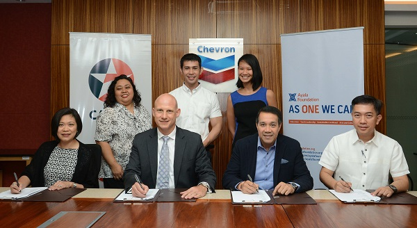 CALTEX & AYALA FOUNDATION PARTNERSHIP