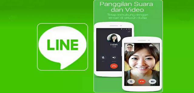 Aplikasi Video Call Line