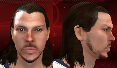 NBA 2K13 Mike Miller Long Hairstyle 2013