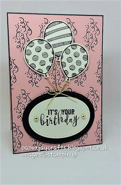 Stampin Up Balloon Adventures Paperjay Crafts