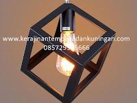 Lampu Gantung Cafe Restoran | Spesialis Lampu Gantung Kerajinan Tembaga dan Kuningan