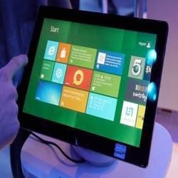 Tablets com Windows 8 podem ter preço bem salgado