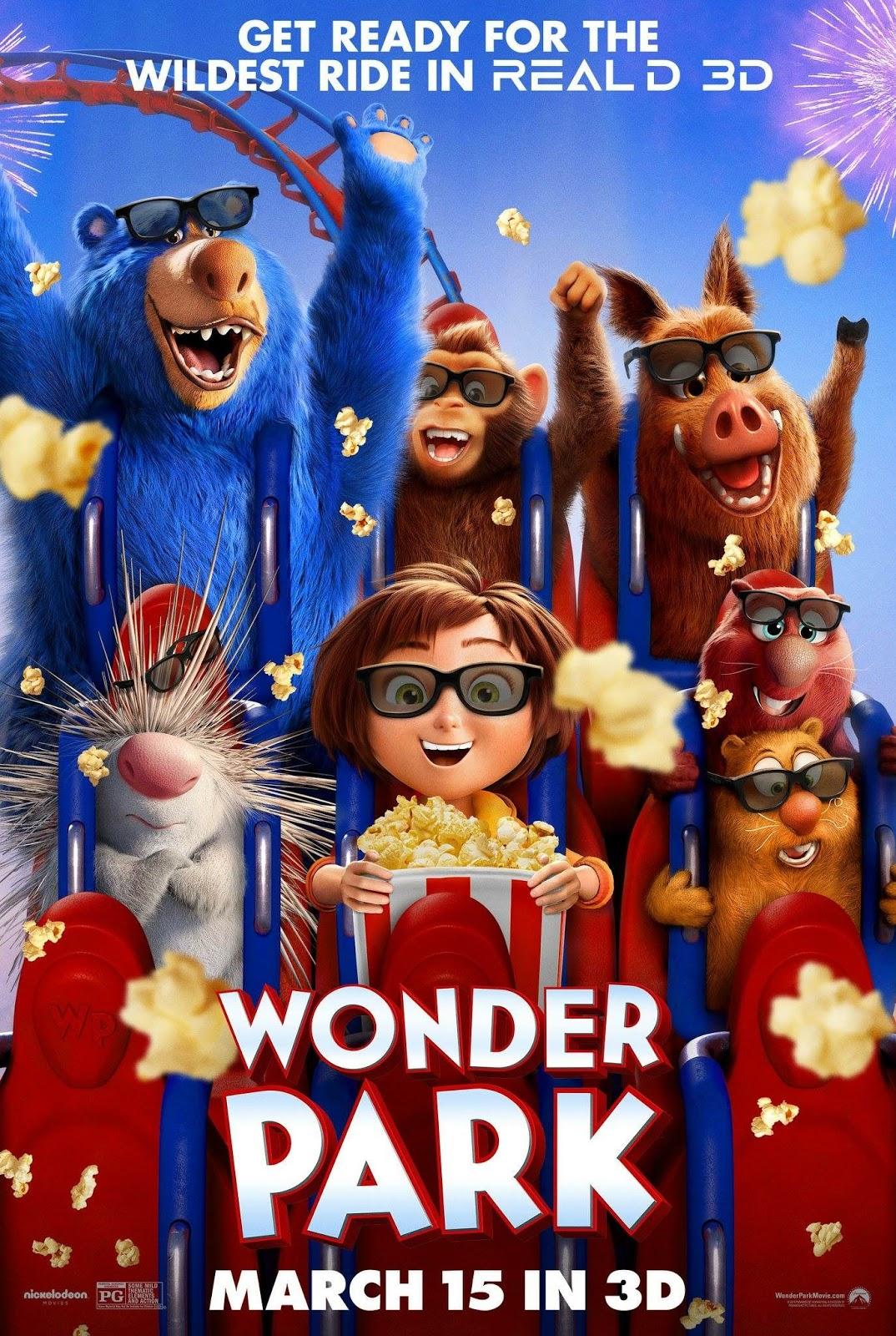 NickALive!: Paramount Unveils New 'Wonder Park' Poster
