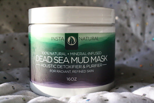 Review: 100% Natural Mineral Infused Dead Sea Mud Mask by InstaNatural