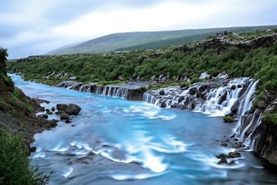 Водопадът, Исландия