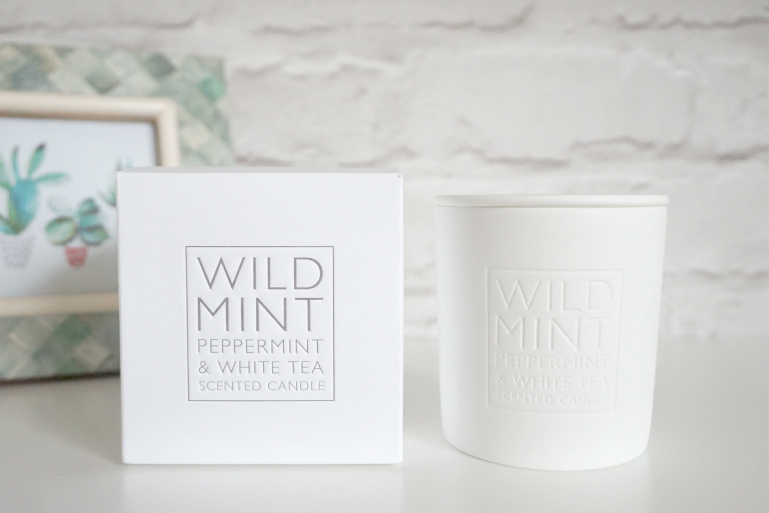 The White Company Wild Mint Candle