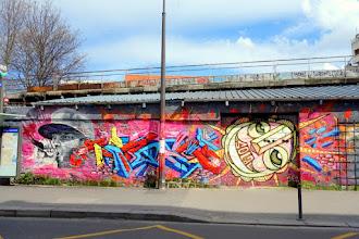 Sunday Street Art : dAcRuZ Clem Mani - rue de l'Ourcq - Paris 19
