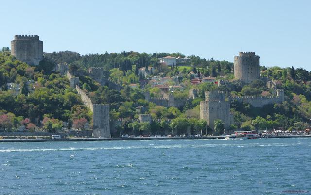 Pevnosť na Európskej strane Bosporu, Istanbul, Turecko