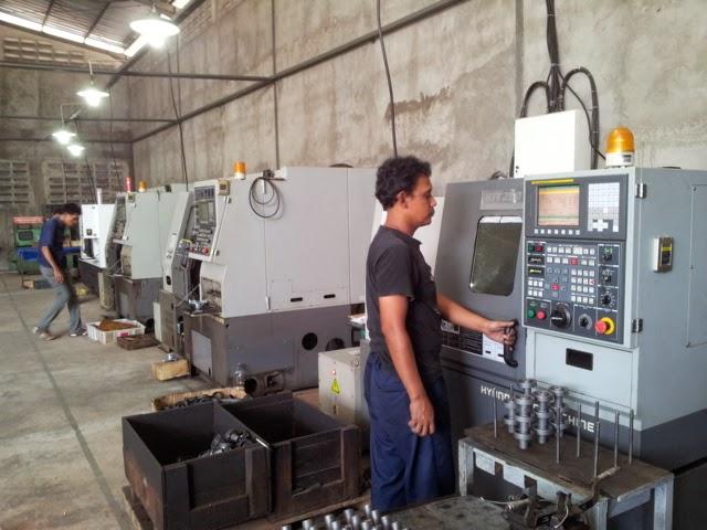 Fasilitas Manufaktur CNC Kuningan