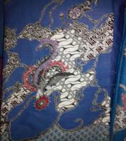 Kain Batik Prima 4855 Biru