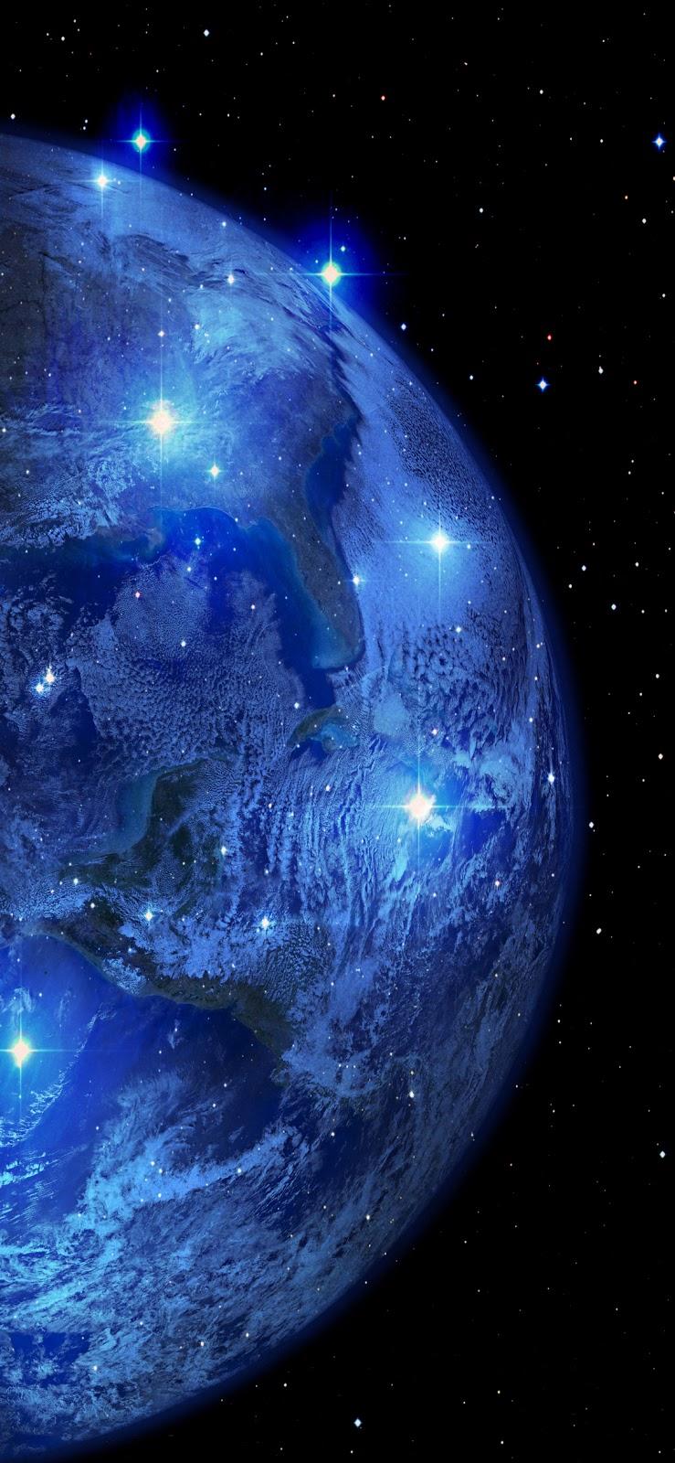Blue Earth (iPhone X)