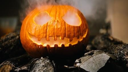 Spooky Jack-o'-lantern Pumpkin