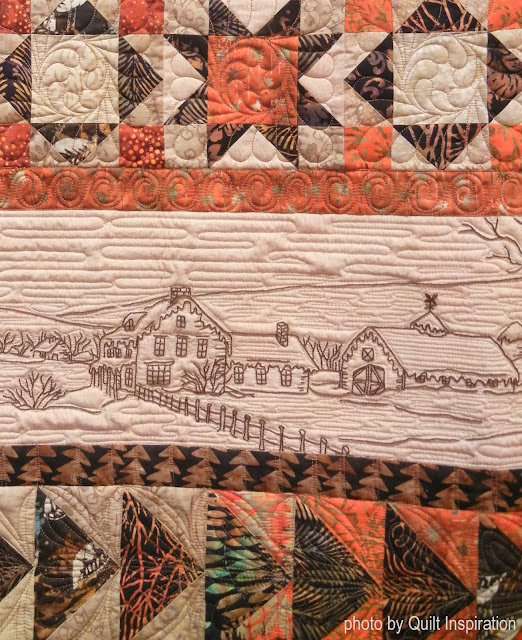 Juxtaposition Of Traditional And Contemporary Elements In Interior Design: Quilt Inspiration