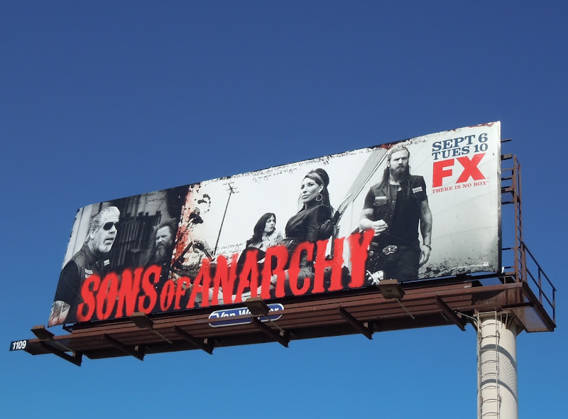 Sons of Anarchy season 4 billboard