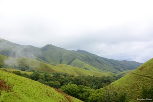 Kudremukh lush green mountains 5
