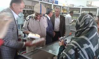 الجوهري يفتتح منفذين لبيع منتجات القوات المسلحة بـزفتي