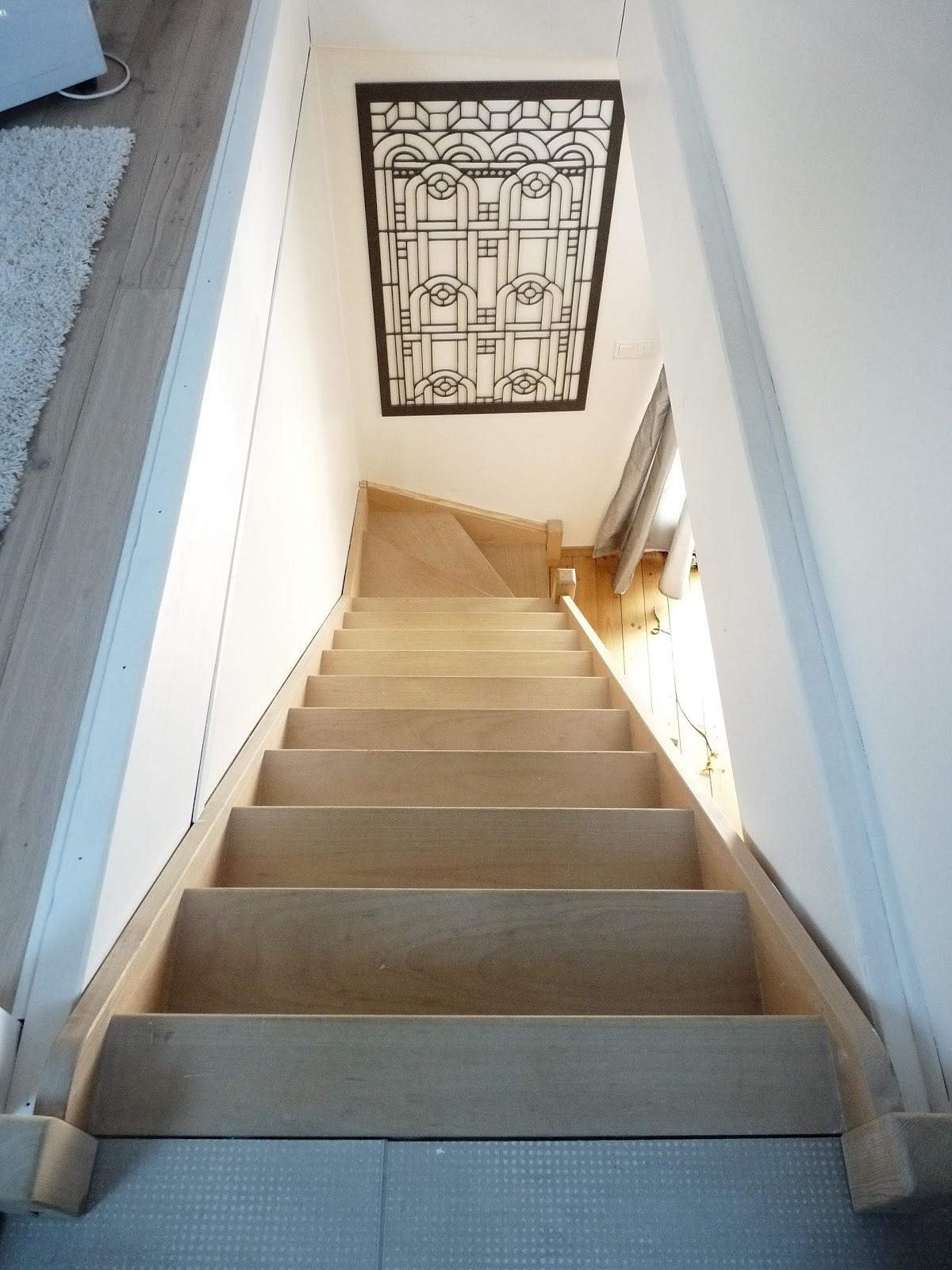 Vitrificateur Escalier Apres Peinture rue rivoirette: avant/apres ◊◊ peindre un escalier