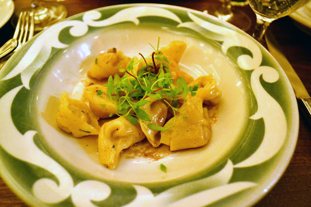 Commerce Restaurant Sweet Potato Tortelloni