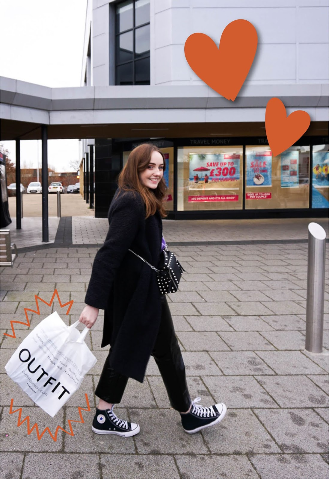 blogger at coliseum shopping park, Ellesmere Port, northwest shopping