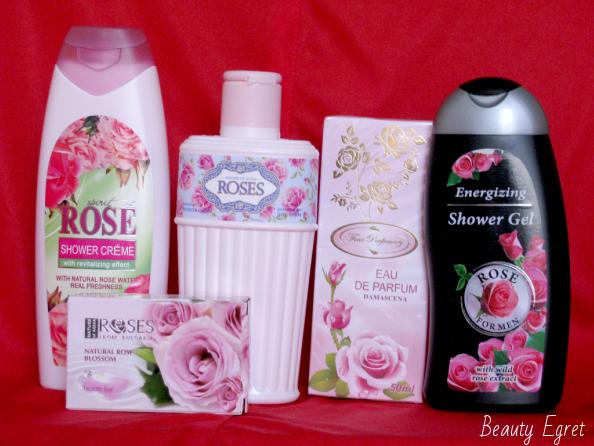 косметика из розы для тела из Болгарии