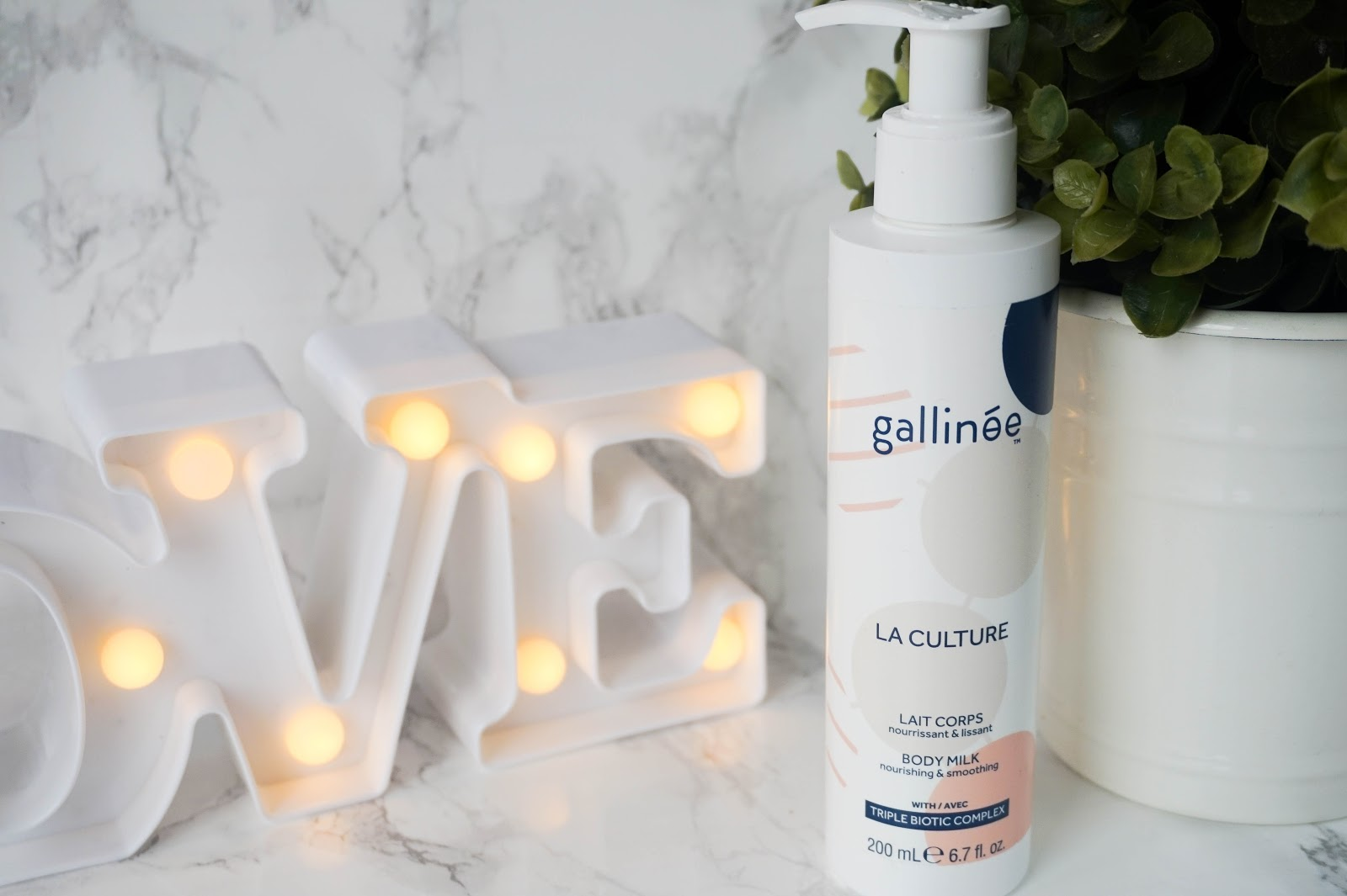 New Body Care Products on Trial, Gallinee La Culture Body Milk