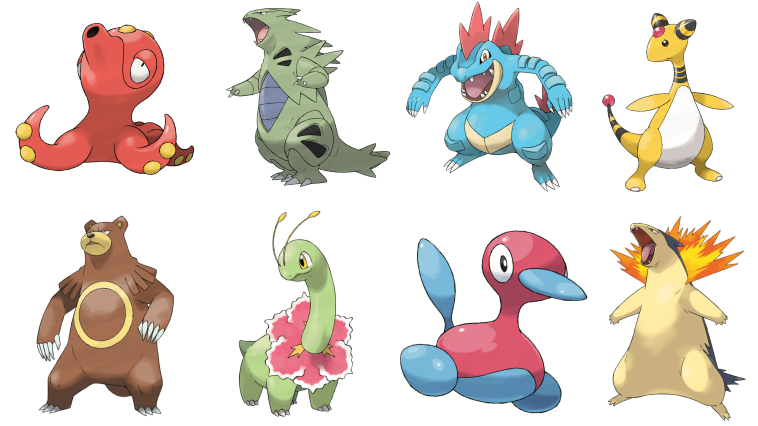 Pokémon GO Generation 2 Starter Models Pokemon Go WorldWide