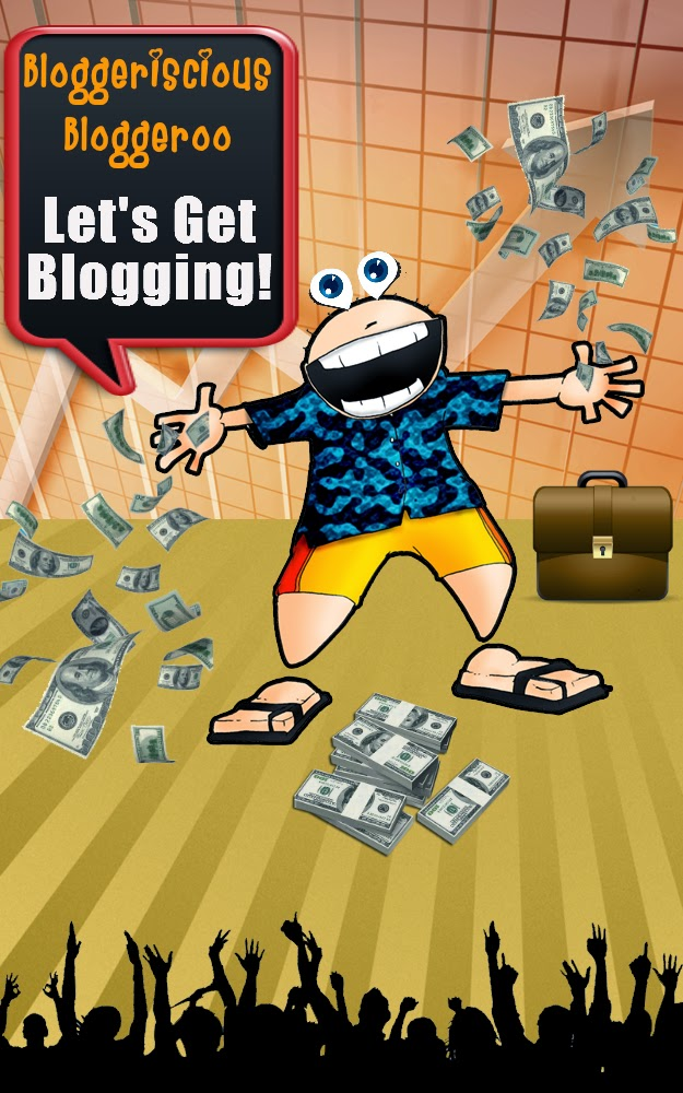 Blobberiscios Bloggeroo - Let's Get Blogging