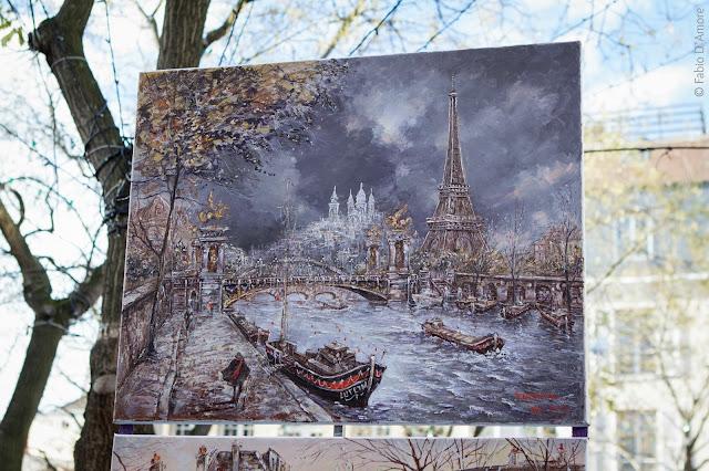 Pittori-Chiesa del Sacré Coeur-Parigi