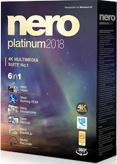Resultado de imagem para nero 2018 platinum