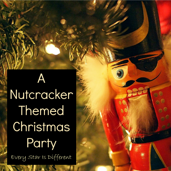 A Nutcracker Themed Christmas Party