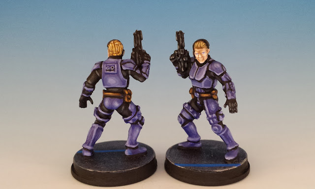 ISB Infiltrators, Imperial Assault (2016), painted miniature