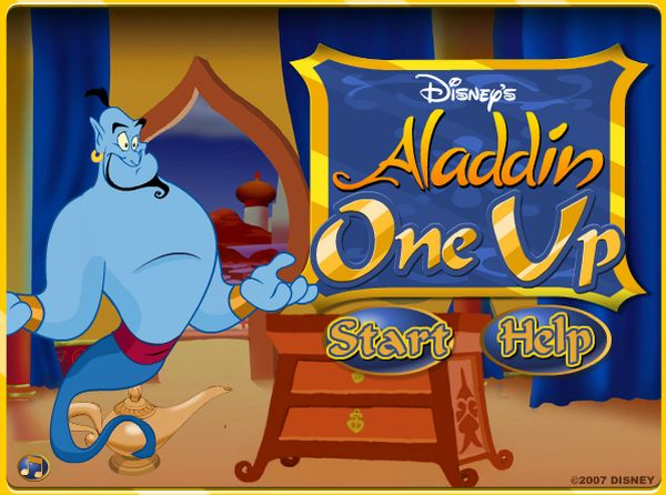 Play Aladdin One Up game