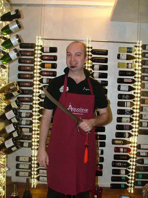 Andrea Busso di Aquolinae Cooking School